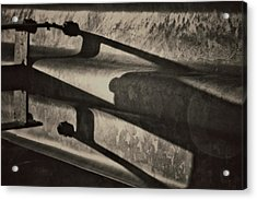 Behind The Barrier Acrylic Print by Odd Jeppesen