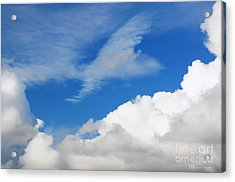 Behind The Clouds Acrylic Print
