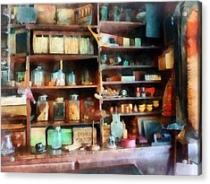 Behind The Counter At The General Store Acrylic Print