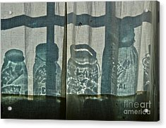 Behind The Curtains - Peoples Choice Award Acrylic Print