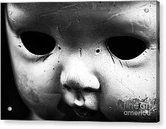 Behind The Eyes Acrylic Print by John Rizzuto