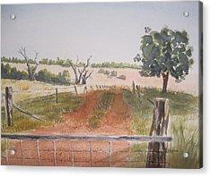 Behind The Gate Acrylic Print