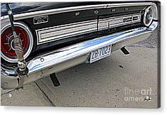 Behind The Galaxie Acrylic Print