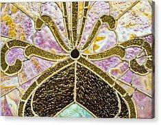 Behind The Glass Acrylic Print by Christi Kraft