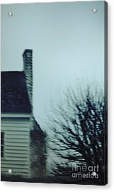 Behind The House Acrylic Print by Margie Hurwich