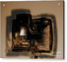 Behind The Lens  Acrylic Print by Steven Digman