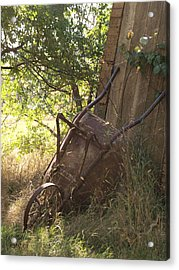 Behind The Shed Acrylic Print