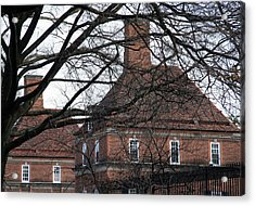 The British Ambassador's Residence Behind Trees Acrylic Print by Cora Wandel