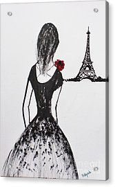 Behold  Acrylic Print by Trilby Cole