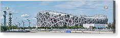 Beijing National Stadium, Olympic Acrylic Print by Panoramic Images