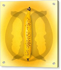 Being Bananas From Inversions In The Multiverse Acrylic Print by Jorgo Photography - Wall Art Gallery
