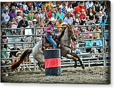Being Clocked Acrylic Print by Gary Keesler