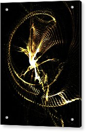 Being Torn-asunder By Economic-corporate Greed V.2 Acrylic Print by Rebecca Phillips