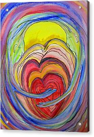 Being With Acrylic Print