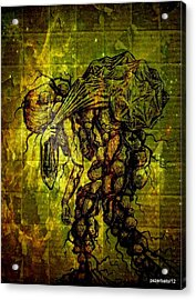 Beings Incapable Of Deep Feelings Of The Human Condition Acrylic Print by Paulo Zerbato