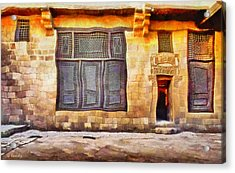 Beit El Harrawi Acrylic Print by George Rossidis