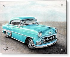 Bel Air Acrylic Print by Heather Gessell
