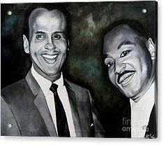 Belafonte And King Acrylic Print