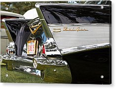 Acrylic Print featuring the photograph Belair Tail Fins  by Mick Flynn