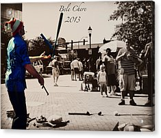 Bele Chere 2013 Asheville Nc Acrylic Print