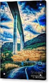 Beleau Millau Viaduct France Acrylic Print