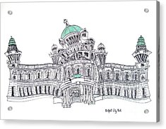 Belfast City Hall Belfast Acrylic Print by Tanya Mai Johnston