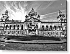 Belfast City Hall Acrylic Print