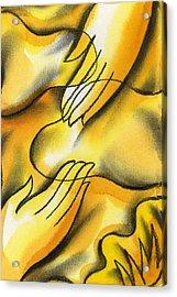 Belief Acrylic Print by Leon Zernitsky