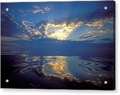 Belize Dawn Acrylic Print