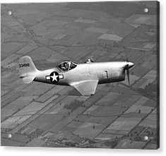 Bell Aircraft Xp-77 Acrylic Print by Underwood Archives