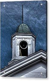 Bell Acrylic Print by David Stine