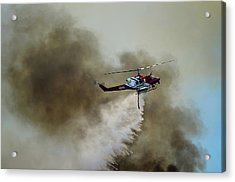 Bell Helicopter 212 Acrylic Print by James David Phenicie