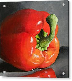 Bell Pepper Mini Acrylic Print