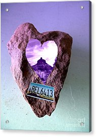 Bell Rock 6413 Serendipity Acrylic Print by Marlene Rose Besso