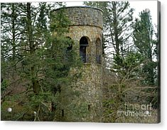 Acrylic Print featuring the digital art Bell Tower by Jeannie Rhode