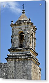 Bell Tower Mission San Jose Tx Acrylic Print