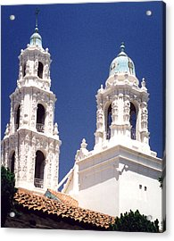 Bell Towers Acrylic Print by Mary Bedy