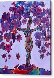 Bella Di Vino Acrylic Print