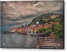 Bellagio In The Rain Acrylic Print
