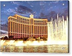 Bellagio Las Vegas Acrylic Print