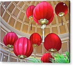 Bellagio Rotunda - Las Vegas Acrylic Print