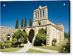 Acrylic Print featuring the photograph Bellapais Abbey Kyrenia by Jeremy Voisey