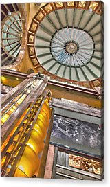Acrylic Print featuring the photograph Bellas Artes Interior by John  Bartosik