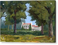 Belle Meade Mansion Nashville Tennessee Acrylic Print by Tommy Thompson