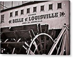 Belle Of Louisville Acrylic Print