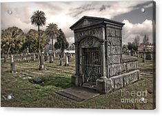 Bellevue Cemetery Acrylic Print by Gregory Dyer