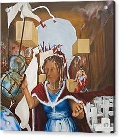Bellona Goddess Of War Sister Of Mars Acrylic Print