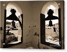 Bells Acrylic Print by Gaspar Avila