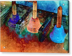 Bells Acrylic Print by Jan Amiss Photography