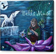 Bells Muse  Acrylic Print by The Art With A Heart By Charlotte Phillips